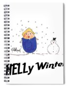 Shelly Winters Spiral Notebook