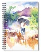 Shepherd In Saint Bertrand De Comminges Spiral Notebook