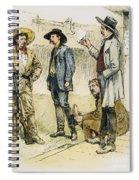 Sheriff John Behan, C1880s Spiral Notebook