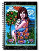 Sherry And Her Chihuahua Spiral Notebook