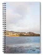 Shhhh - Sea Otters Sleeping Spiral Notebook