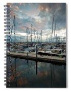 Shilshole Marina Tranquility Spiral Notebook