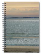 Shimmering Sunlight Upon The Sea Spiral Notebook