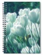 Shimmering Tulips Spiral Notebook