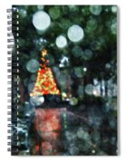 Shiny Tree In Bienville Square Spiral Notebook