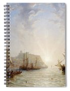 Shipping Off Scarborough Spiral Notebook