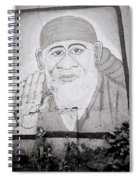 Shirdi Sai Baba In Bombay Spiral Notebook