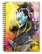 Shiva Diva Spiral Notebook