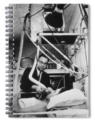 Shock Unit, 1970 Spiral Notebook