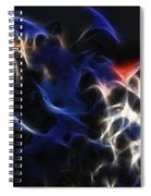 Shocking Petunias Spiral Notebook