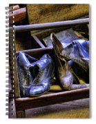 Shoe - The Shoe Cobblers Box Spiral Notebook