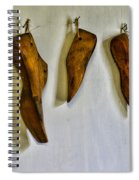 Shoe - Wooden Shoe Forms Spiral Notebook