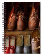 Shoemaker - Shoes Worn In Life Spiral Notebook