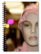 Shopping Girl Spiral Notebook