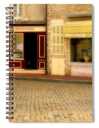 Shops In Beaune France Spiral Notebook