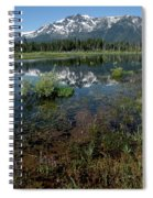 Shore Reflections Of Mt Tallac Spiral Notebook