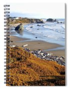 Shores Of Oregon Spiral Notebook