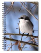 Shrike - Lonely - Missing You Spiral Notebook