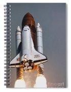 Shuttle Lift-off Spiral Notebook