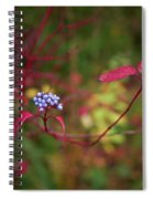 Siberian Dogwood Spiral Notebook