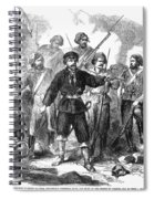 Sicily: Guerrillas, 1860 Spiral Notebook
