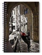 Sicily Meets Venice Spiral Notebook