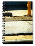 Sidewalk Abstract Spiral Notebook