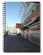 Sidewalks Of Gum Spiral Notebook
