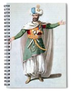 Sidy Hafsan, Bey Of Tripoli, 1816 Spiral Notebook