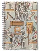 Siege Of Tenochtitlan, 1521 Spiral Notebook