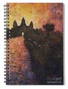 Siem Reap Sunrise 3 Spiral Notebook