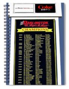 Sign Of Champions Spiral Notebook