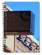 Signs  Spiral Notebook