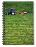 Silage Making, Ireland Spiral Notebook