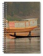 Silence On The Mekong Spiral Notebook