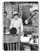 Silent Film: Punishment Spiral Notebook