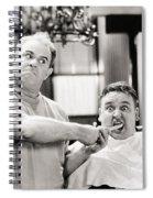 Silent Film Still: Doctor Spiral Notebook