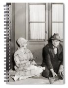 Silent Film Still: Guns Spiral Notebook