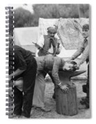 Silent Film Still: Gypsies Spiral Notebook