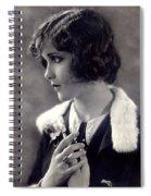 Silent Movie Star Spiral Notebook