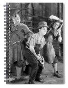 Silent Still: Blacksmith Spiral Notebook