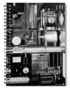 Silent Still: Laboratories Spiral Notebook