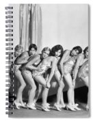 Silent Still: Showgirls Spiral Notebook