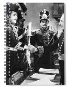 Silent Still: Uniforms Spiral Notebook