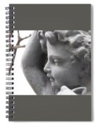 Silent Watcher Spiral Notebook