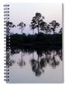 Silhouetted Trees Spiral Notebook