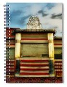 Silk City Lounge Spiral Notebook