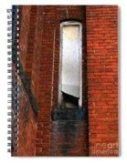 Silk Mill Soot Spiral Notebook