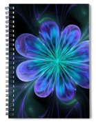 Silk Of The Orient Spiral Notebook