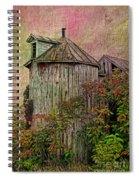 Silo In Overgrowth Spiral Notebook